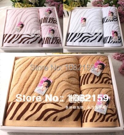 (3/pcs /Set ) Bamboo Towels,100% Bamboo Fiber ,1pc Bath towel 2pcs Face Towels Set Gift for Adults(China (Mainland))