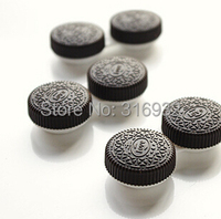 New Fashion Oreo biscuit Contact Lenses Box Contact lens Case for Eyes Care Kit Holder Container Gift