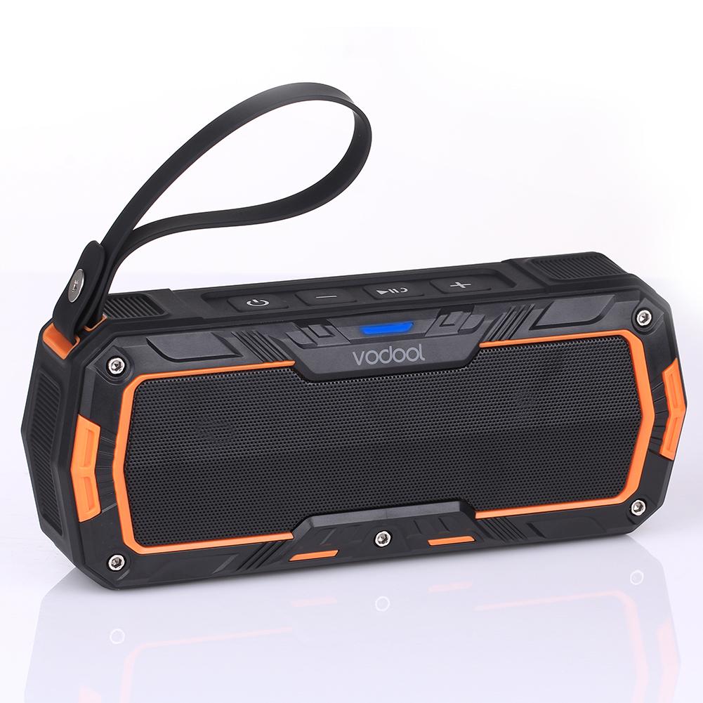 VODOOL Bluetooth Speaker Outdoor Sport Portable Wireless Waterproof Speaker Super Bass Dustproof Shockproof Stereo Sound Speaker