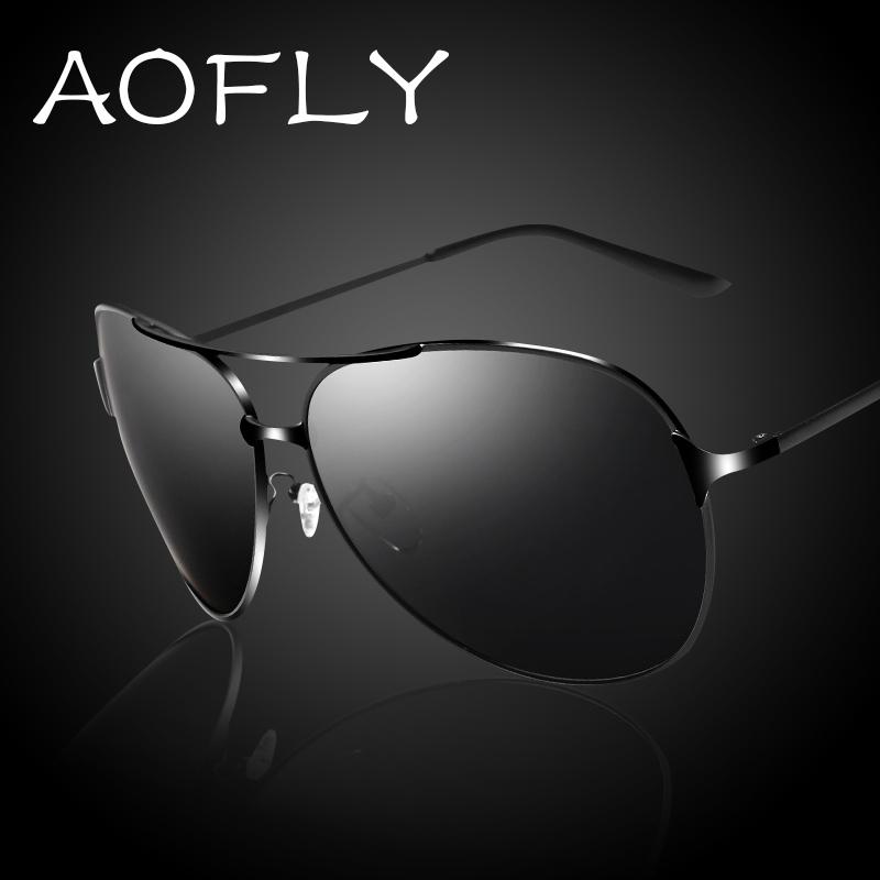 New 2015 Aviator Polarized Sunglass Fashion Driving Sunglasses Men Out