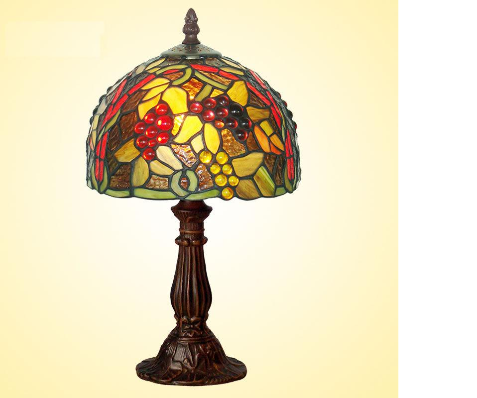 8 inch tiffany table lamp size h37cm w20cm stained art for 6 inch table lamp