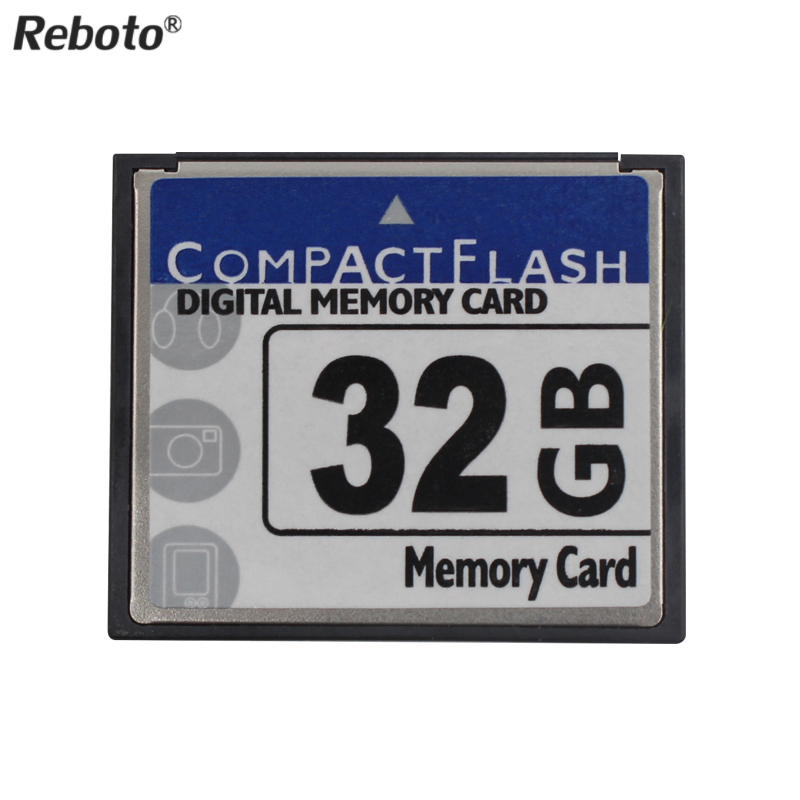 Reboto Newest CF Card 64GB Storage Card 2GB 4GB 8GB 16GB 32GB Compact flash digital memory TF Card For Canon Nikon(China (Mainland))