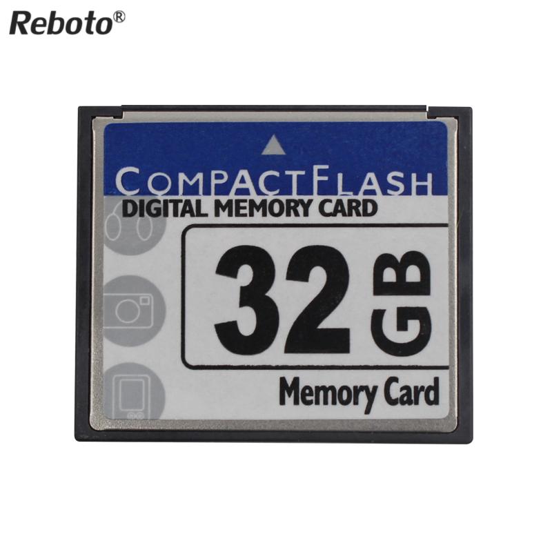 Reboto Newest CF Card 64GB Storage Card 2GB 4GB 8GB 16GB 32GB Compact flash digital memory TF Card For Canon Nikon(China (Mainland))
