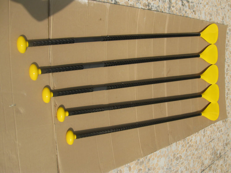 Launched bright yellow carbon fiber sup stand up paddle(China (Mainland))