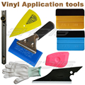 8 IN 1 Vinyl Installation Car Wrapping Tool kit 3M Felt Squegee Knife Glove Rubber Squeegee
