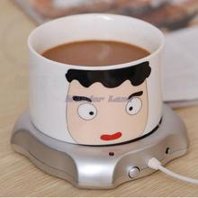 Portable USB Electric Cup Warmer Tea Coffee Beverage Cup Heating Pad Mat(China (Mainland))