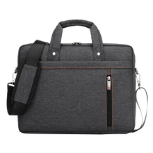 Buy 13 Inch big size Nylon Computer Laptop Solid Notebook Tablet Bag Bags Case Messenger Shoulder unisex men women Durable Black for $16.23 in AliExpress store