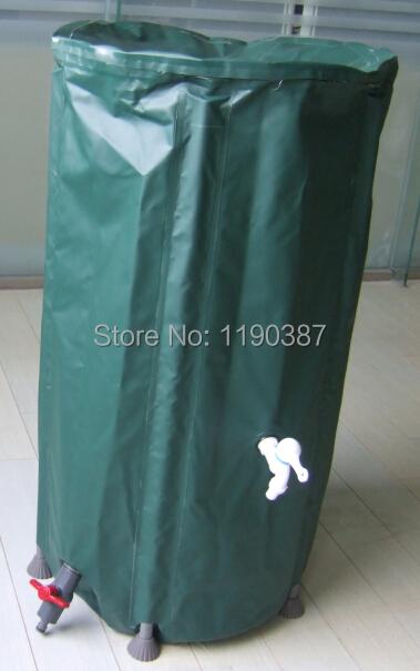 250L foldable water tank rain water connecting rain harvesting container PVC compressible rain barrel(China (Mainland))