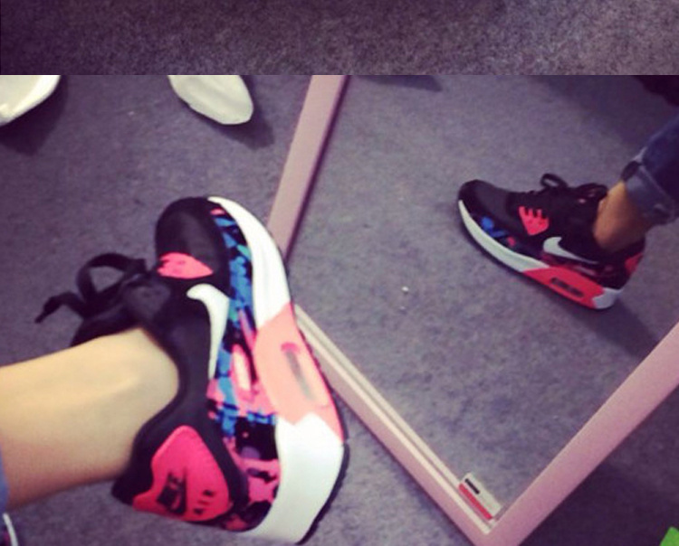 Zapatillas Nike Air Max 90 2015 Para Mujer
