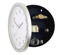 Hidden Valuables Luxury Goods Safe Clock Wall Storage Watch Box Home Office Secret Hide(China (Mainland))