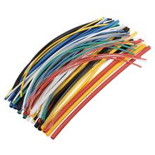 New Arrvial!!! 70 pcs Flame Retardant Durable 7 Color Assorted Colors Ratio 2:1 Polyolefin Heat Shrink Tubing Tube Kits(China (Mainland))