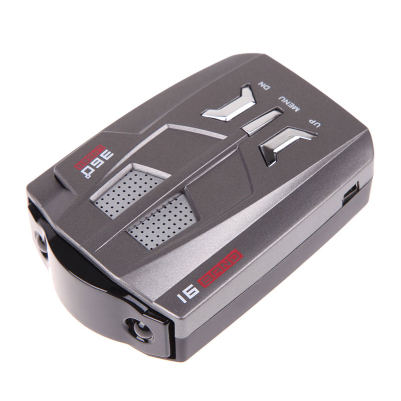 New V9 Car Speed Laser GPS 360 Degrees Voice Alert Electronic Dog Radar Detector High Quality