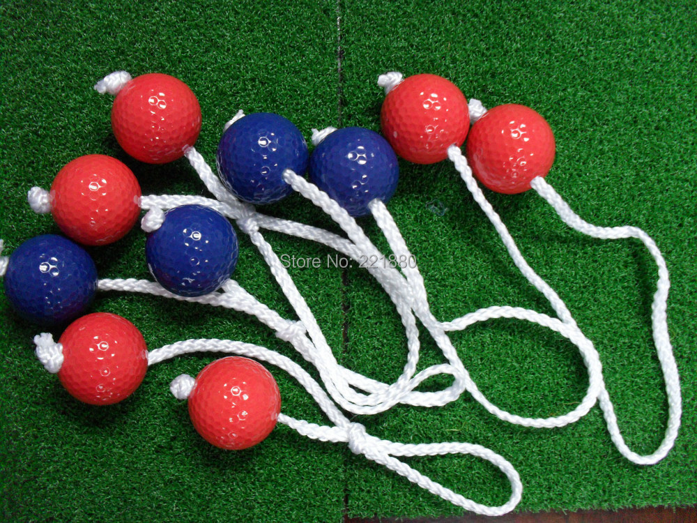 New Design High Quality 6pair/set Two Layer Ladder Golf Balls Golf Training Pratice Balls driving range ball(China (Mainland))