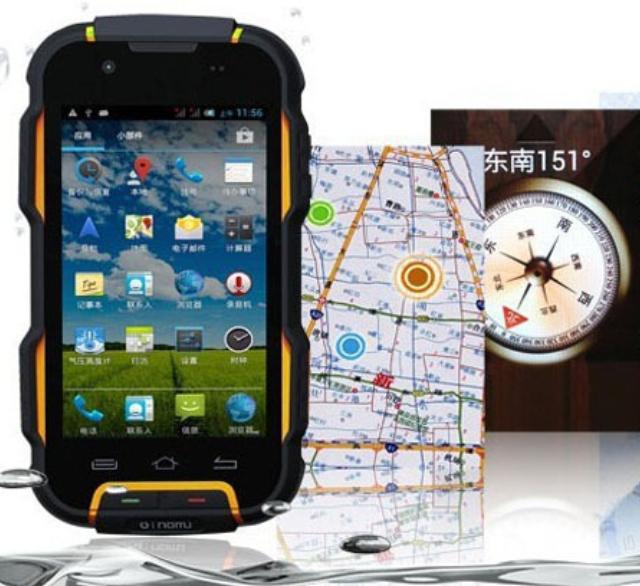 Original Oinom LMV9 MTK6582 Quad Core IP67 rugged Android 4.4 Waterproof Phone 4500mAh Long standby Dustproof Smartphone 3G GPS(China (Mainland))
