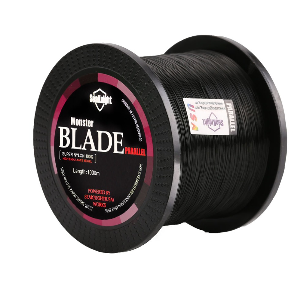Super strong Blade Series 1000m Nylon Fishing Line Monofilament Fish Line 2-35LBrounder smoother thinner stronger(China (Mainland))