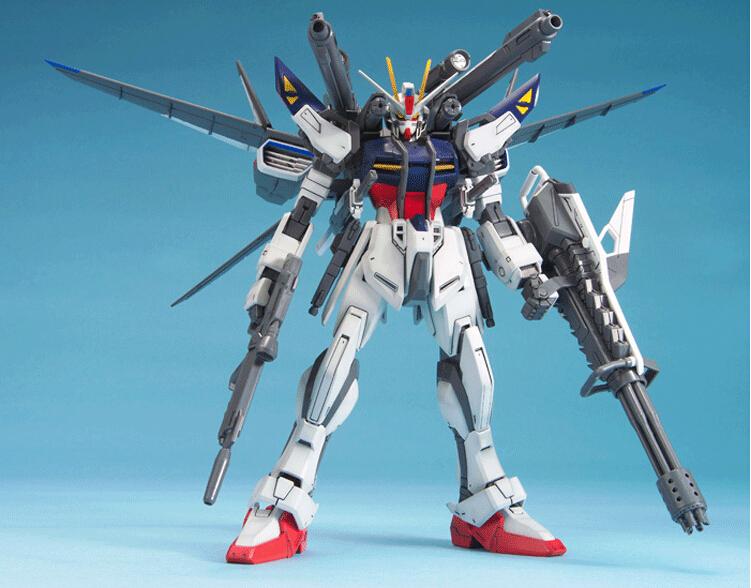 Anime Gundam SEED MG 1/100 Strike Noir 008 GAT-X105E Black Robot Model Toys Figure original box