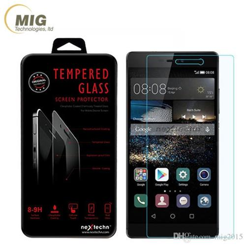 9H Hardness Cell Phone Screen Protectors for Huawei P8 Tempered Glass Mobile Phone Screen Protectors Sale HW-GF001(China (Mainland))