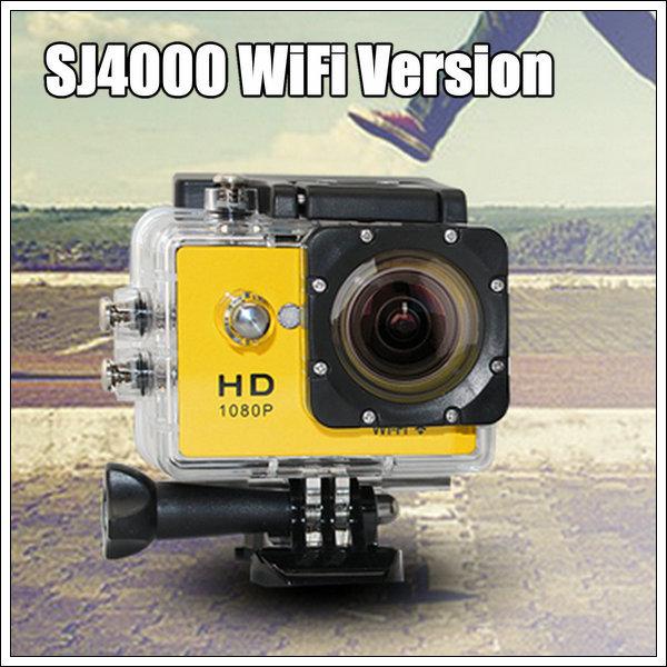 Wifi SJ4000 1080P Full HD Extreme Sport camera DV Action Camera Diving 30M Waterproof mini 12MP Camera DVRs(China (Mainland))