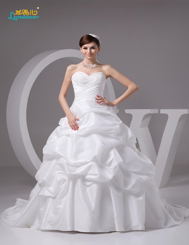 Real photo vestidos de novia puffy organza ball gown for Lace up corset wedding dress