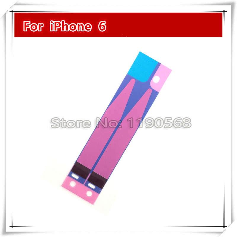 Battery Adhesive Sticker for iPhone 6 6G Replacement Parts free shipping(China (Mainland))