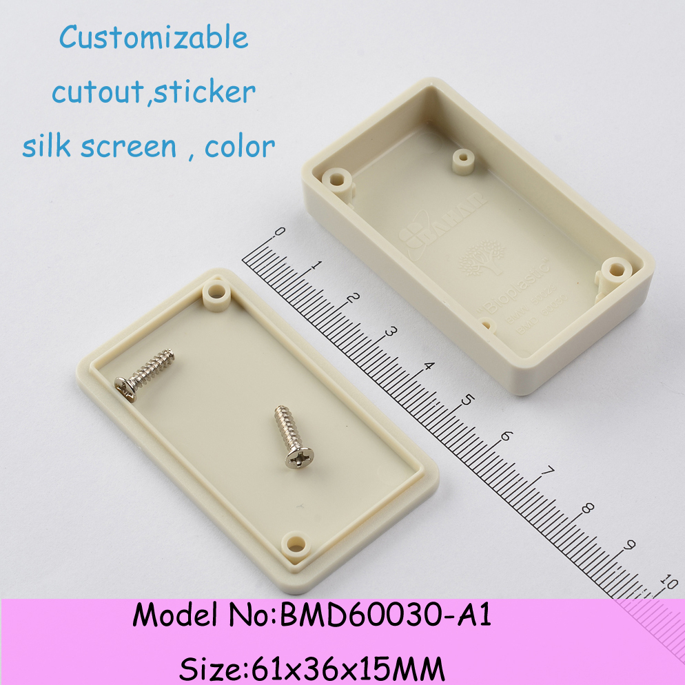 Wholesale(10pcs/lot ) Free shipping plastic case electronics junction box plastic box for electronic project 61*36*15mm<br><br>Aliexpress
