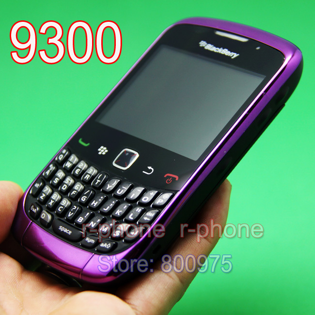 Original BlackBerry 9300 Curve Mobile Phone Blackberry OS 9300 Smartphone Unlocked 3G Wifi Refurbished Cellphones(China (Mainland))