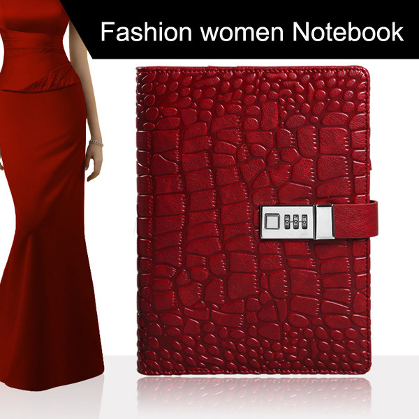 The Kaj code of the fashion crocodile memo A5 notebook office stationery business gifts can be customized<br>