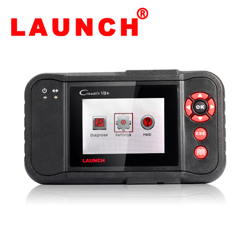 2015 New Arrival LAUNCH X431 Creader VII+ OBDII Auto Code Scanner Equal to Launch CPR123 Internet Update DHL free shipping(China (Mainland))
