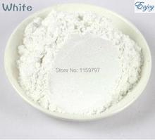 Pearl powder white pearl powder pigment powder flash powder paint toner 500/bag,pearlescent pigment for eyes,nail art(China (Mainland))