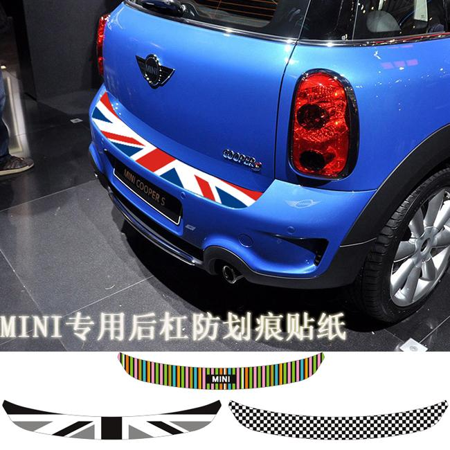 MINI Cooper rear sticker Super decoration high quality printing decal union jack stickers protection cooper S clubman countryman<br><br>Aliexpress