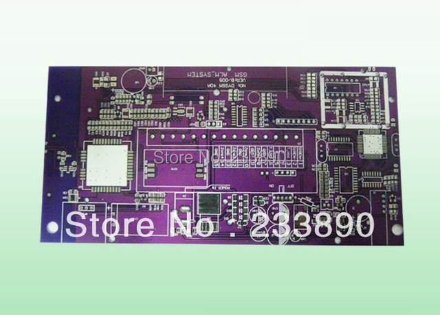 5 pcs 0.3 mm fr-4 double side copper prototype pcb development board,3*8cm led driver printed circuit board
