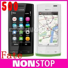 N500 Original Nokia 500 Fate WIFI GPS 5MP 3.2''Touchscreen Unlocked Mobile Phone Free Shipping One Year Warranty IN STOCK!!!(China (Mainland))