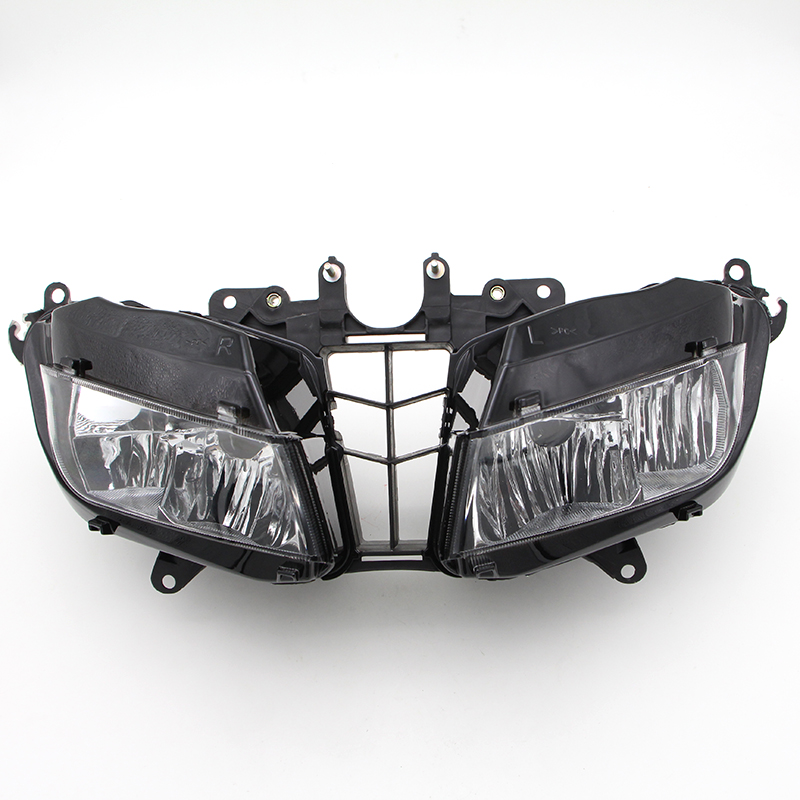 Headlight Assembly For Honda CBR600 CBR600RR F5 Year 13 14 15 2013 2014 2015 Motorcycle Headlamp Clear Lens New(China (Mainland))