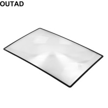 Buy 2017 New 3X Convinient PVC Magnifier Sheet 180X120mm Book Page Magnifying Book Page Reading Glass Lens Magnification for $1.04 in AliExpress store