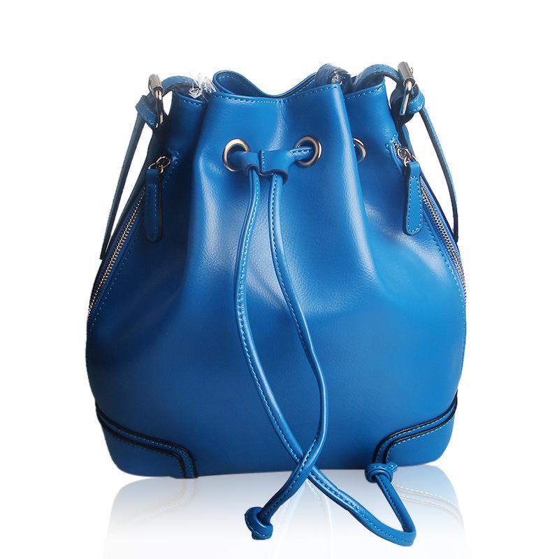 Women Handbags Totes Genuine Leather Women Handbags Women Messenger Bags String Designer Handbags Shoulder Bags RD-007