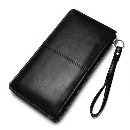 Ladies Women Money Clip Wallet Brand 100% Genuine Leather Long Wallet carteira feminina Cowhide Deisgner Clutch Ladies Wallets(China (Mainland))
