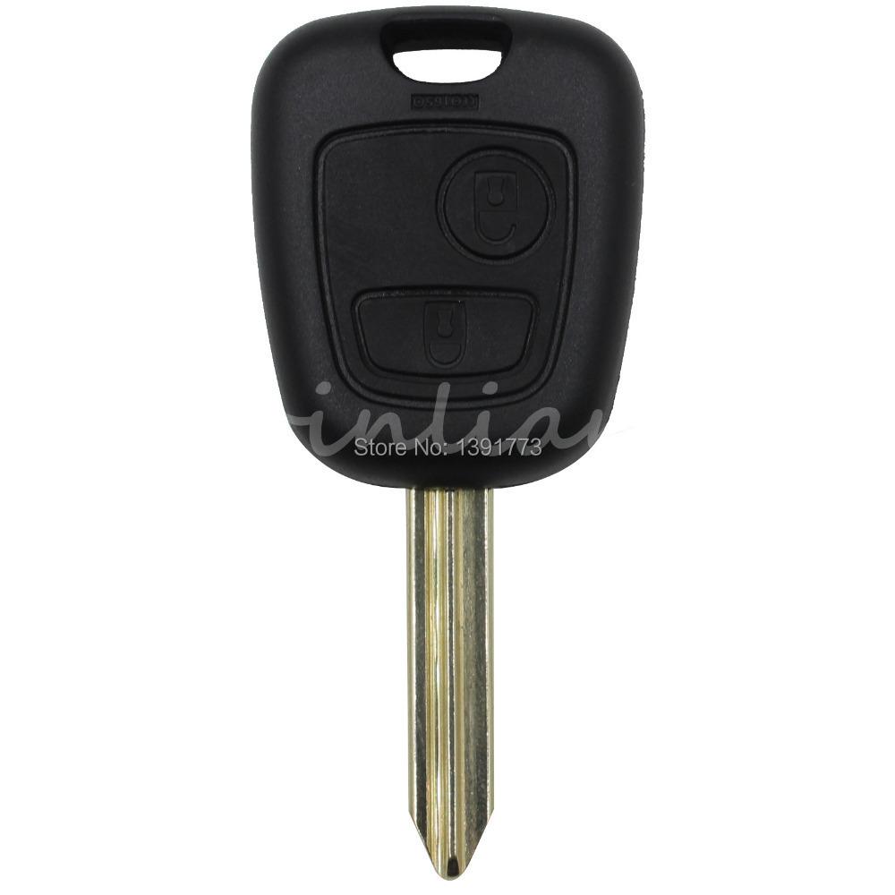 Replacement Remote Key Citroen Saxo Xsara Picasso Berlingo Key Fob Case Remote 2 Button free shipping(China (Mainland))