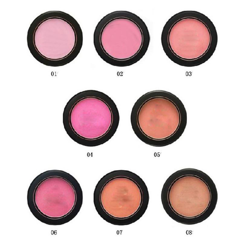 1 PCS Face Makeup Baked Blusher Professional Blush Powder Cometics Cheek Powder Blusher Palette Sleek Make Up Blush Cream Blush(China (Mainland))