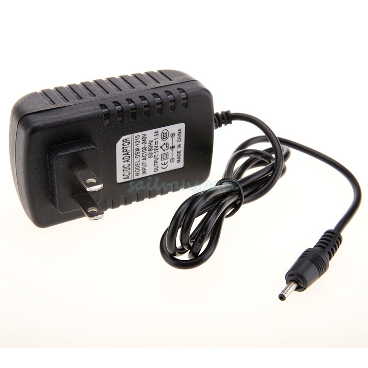 Free Shipping 12V 1.5A AC Travel Home Wall Tablet Charger Power Adapter For Acer A500 51(China (Mainland))