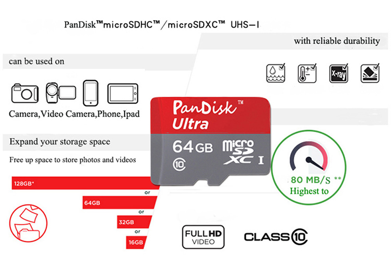 tarjeta micro sd Digital 16GB 32GB 64GB 128GB microSDXC Class 10 UHS-I 45MB/s Read Card(SDC10G2/16GB/32GB/64GB/128G )(China (Mainland))