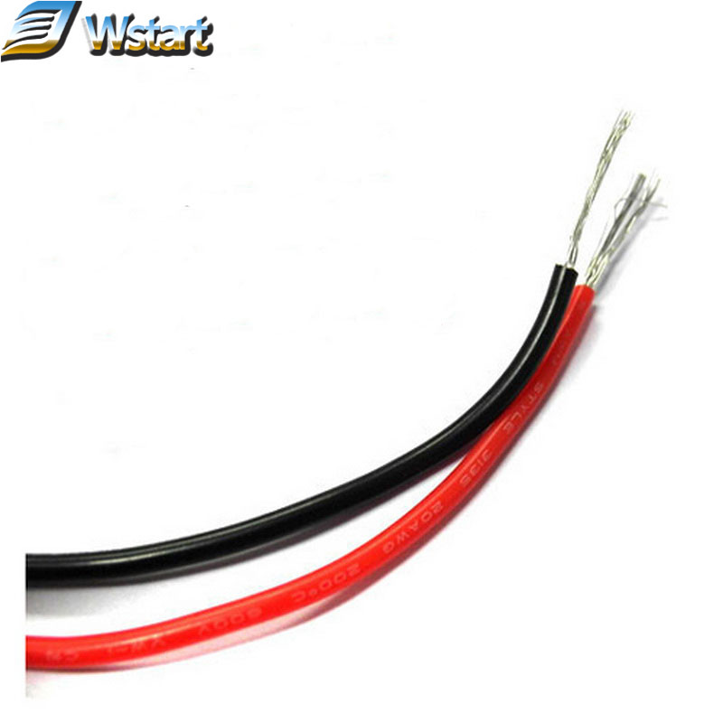 DHL Free shipping UL 3135 26AWG Silicone wire AWG26 Silicone Cable Conductor construction 30/0.08 26# high temperature cable(China (Mainland))