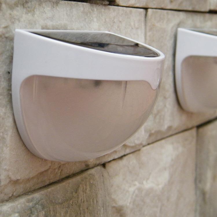 iluminacao de jardim energia solar:Solar Powered Outdoor Wall Lights