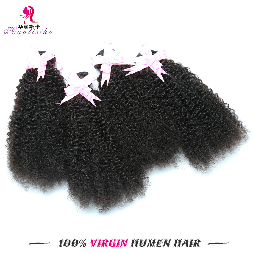 Virgin Brazilian Afro Kinky Curly Hair Afro Kinky Human Hair Weave Brazilian Afro Kinky Curly Hair 100g Rosa Queen Hair Products
