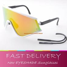 Special Edition Heritage Eyeshade Polished Sunglasses Top quality oculos bike cycling glasses fire iridium with boxes(China (Mainland))