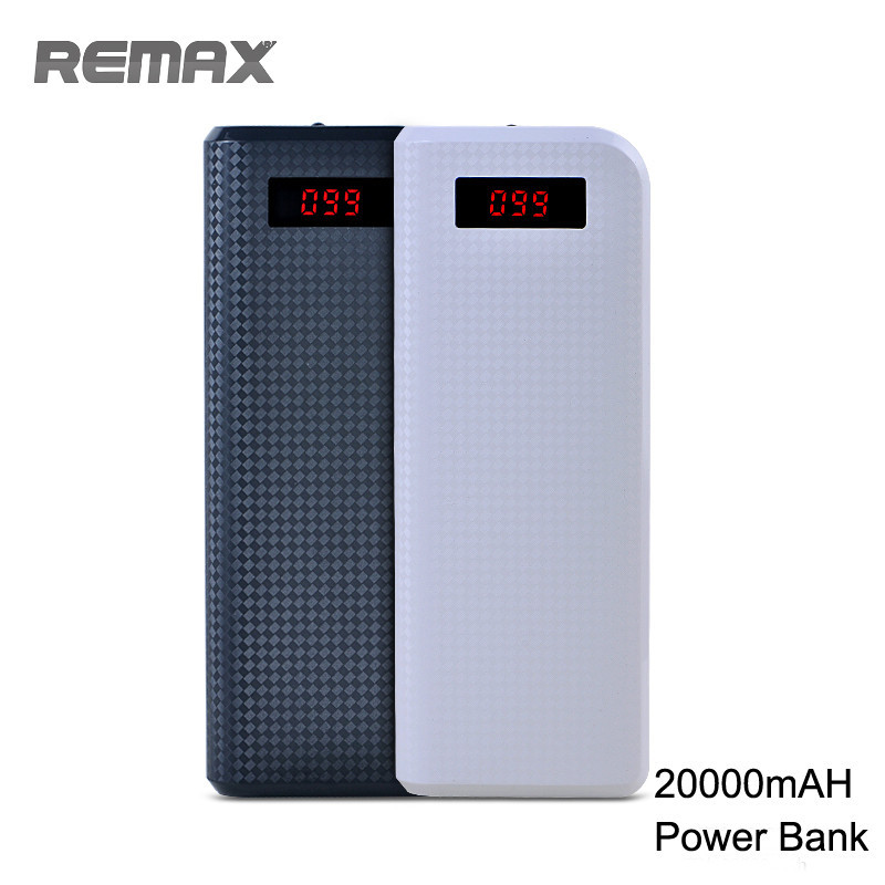 Original-REMAX-Proda-20000mAH-Power-Bank-Portable-Charger-External-Battery-LED-Flashlight-LCD-Display-Double-USB