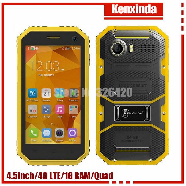 Original Kenxinda W6 Android 5.1 Waterproof+Shockproof+Dustproof Smart Phone 5.0'' MTK6735P Quad Core 1GB RAM 8GB ROM w3 w9 x1(China (Mainland))