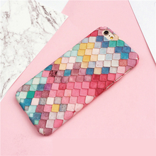 Buy Cute 3D Colorful Mermaid Fish Scales Phone Cases Apple iPhone 6 Case 6S Plus Hard Back Cover Coque iPhone 7 7Plus Shell for $2.49 in AliExpress store