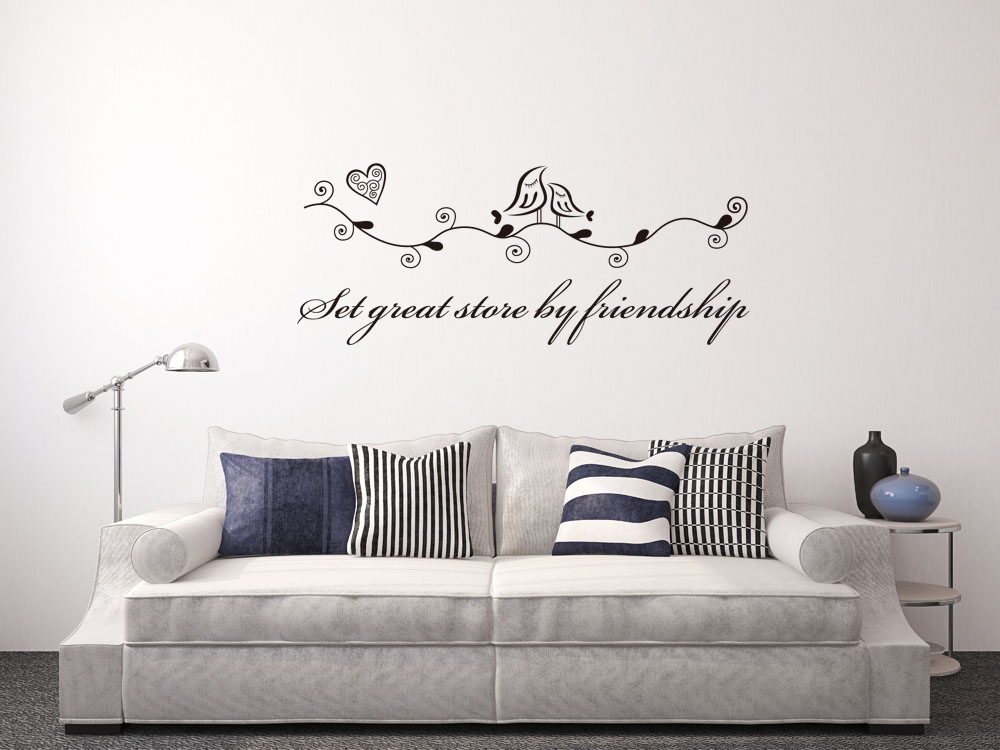 2016 new removable 3d bird english PVC wall stickers For living room bed room home decor ws9103(China (Mainland))