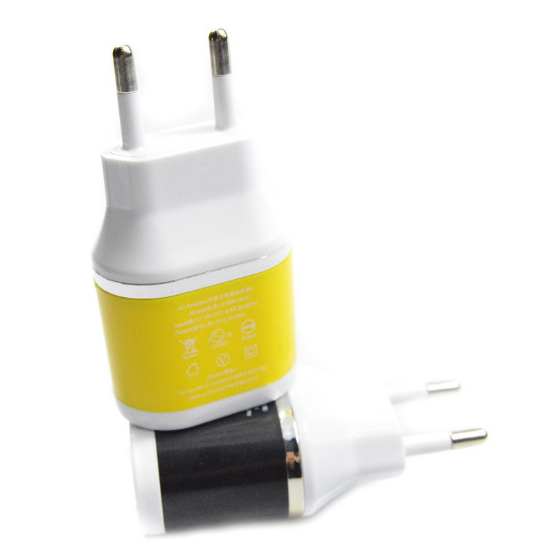 free shipping 5V 2.1A USB Power EU Wall Adapter Mobile Phone Charger for iPad 2 3 4 for iPhone 5/5C 5S 4/4S for iPod Touch