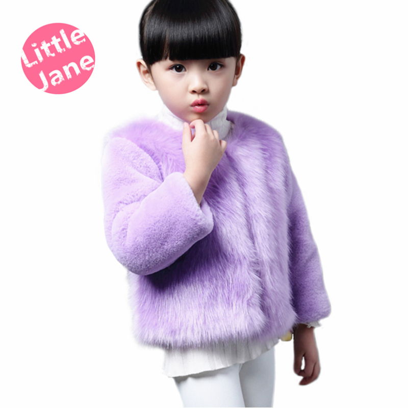 Fashion Kids clothes, winter fur coat for girls, baby clothes parka elegant clothing for girls, girl outerwear luxury faux fur(China (Mainland))